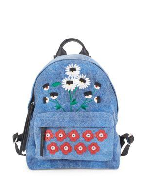 Daisy Zippered Backpack
