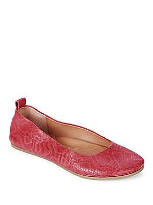 Dana Leather Ballet Flats