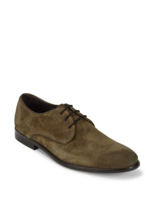 Star Suede Blucher Shoes John Varvatos