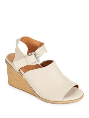 Gerry Leather Wedge Sandals Gentle Souls