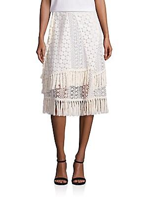 Crochet & Lace Skirt