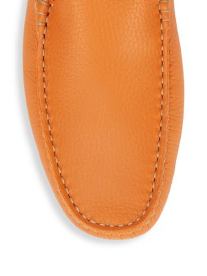 TOD'S Solid Leather Moccasins