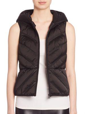 Mesh Inset Puffer Vest