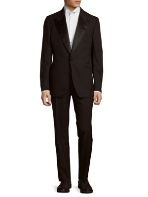 Plain Wool Tuxedo Brunello Cucinelli