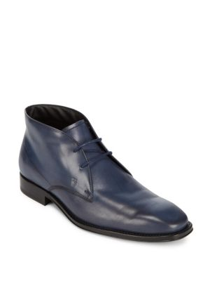 Leather High-Top Shoes Tod's