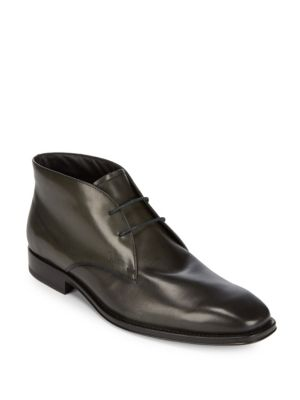 High-Top Leather Shoes Tod's