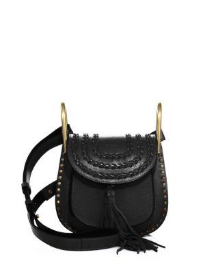 Hudson Mini Tasseled Leather Crossbody Bag Chloé