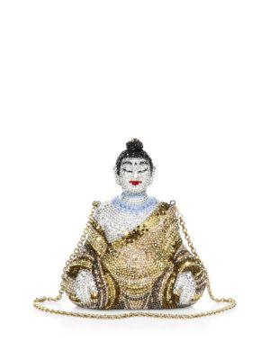 Gautama Buddha Crystal Clutch Judith Leiber