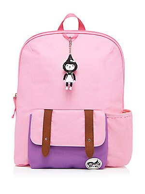 Girl's Colorblock Backpack