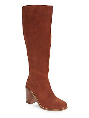 Memory Suede Riding Boots