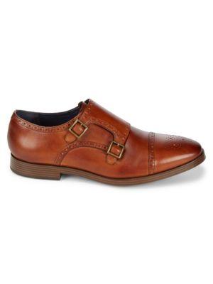 Jefferson Grand Double Monk Strap Dress Shoes Cole Haan
