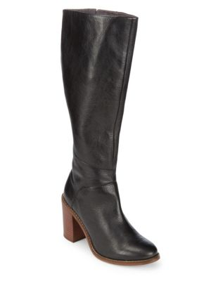 Memory Leather Mid-Calf Boots Seychelles