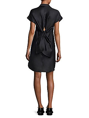 Ara Tie-Back Shirtdress