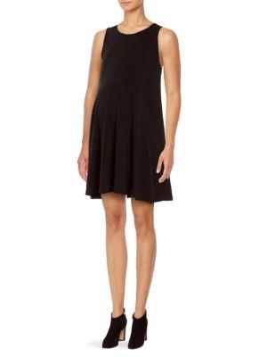 Lindsay Sleeveless Maternity Dress Tart Maternity