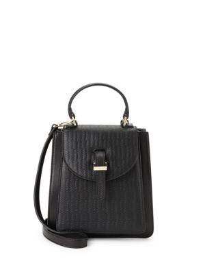Floriana Mini Leather Crossbody Bag MELI MELO