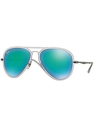 Light Ray 56MM Aviator Sunglasses