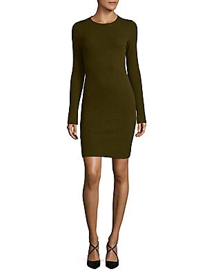 Ferris Lace-Panel Sheath Dress