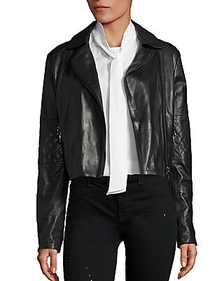 Adaire Leather Moto Jacket