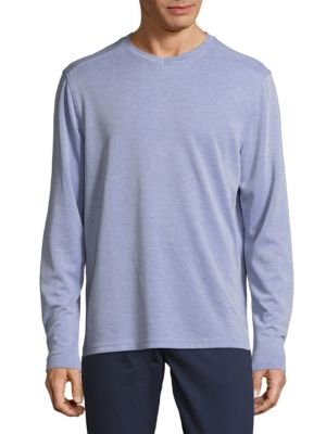 Pullover Long-Sleeve Top Saks Fifth Avenue