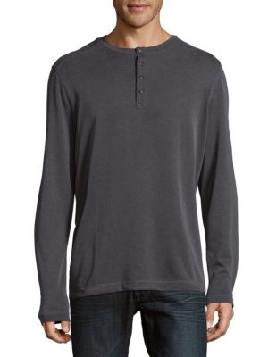 Pullover Henley Top Saks Fifth Avenue