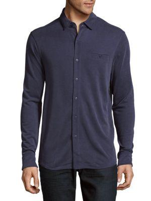 Button-Down Shirt Saks Fifth Avenue