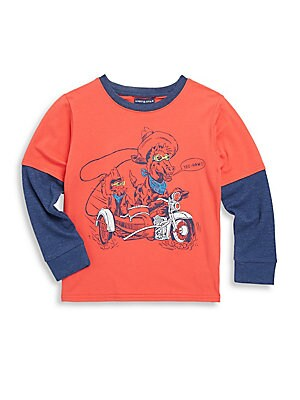 Toddler, Little Boy's & Boy's Cowboy Long Sleeve Top
