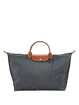 Two-tone Zippered Handbag
