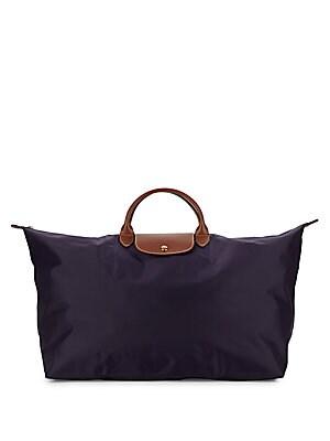 Zippered Flap Handbag