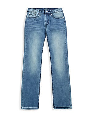 7 for all mankind boys boys buttoned denim jeans