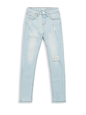 7 for all mankind girls girls ripped denim jeans
