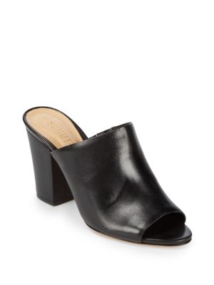 Clark Leather Mules Schutz