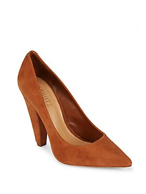 Boann Leather Pumps
