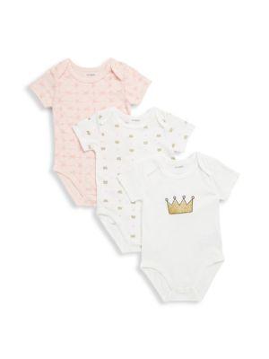 Baby's Three-Piece Cotton Bodysuits PL♥BABY