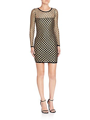 Click here for Pyrite Cutout Sheath Dress prices