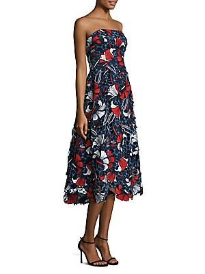 Amelie Lace Floral Dress