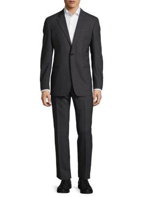 Button-Front Suit Armani Collezioni