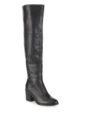 Roman Leather Tall Boots