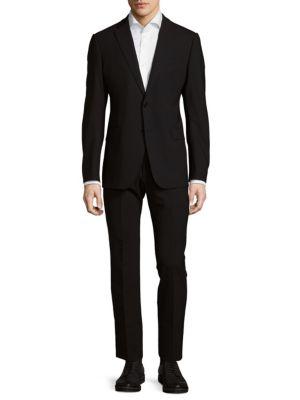 Regular-Fit Two-Button Suit Armani Collezioni