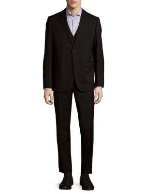 Rich Wool Suit Armani Collezioni