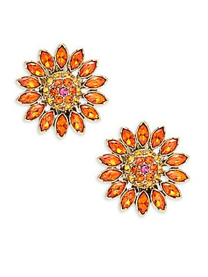Click here for Crystal Floral Stud Earring prices