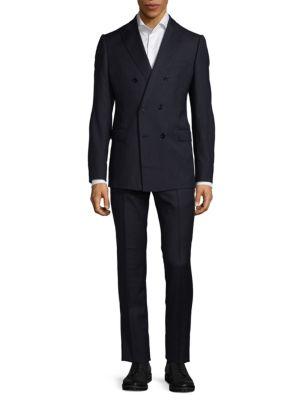 Virgin Wool Classic Suit Armani Collezioni