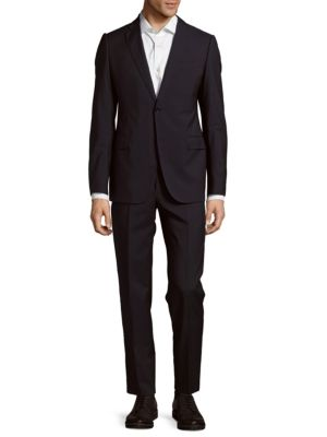 Virgin Wool Suit Armani Collezioni