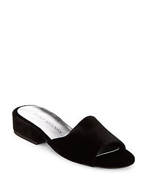 Sliderule Suede Slide Sandals