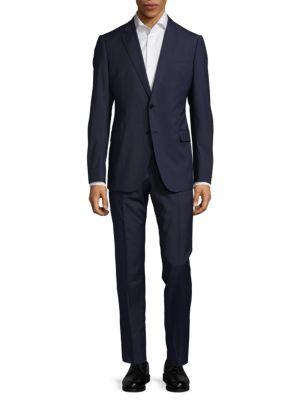 Casual Wool Suit Armani Collezioni