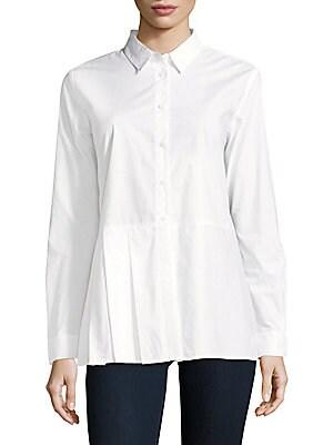 Cotton Long-Sleeve Top
