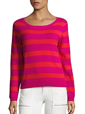Cais Deck Striped Cashmere Sweater
