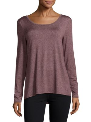 Lace-Up Roundneck Tee Marc New York Andrew Marc