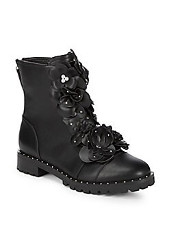 Steve Madden - Marbury Floral Leather Boots
