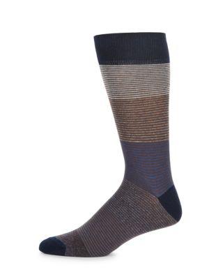 Jaspe Tonal Socks Saks Fifth Avenue