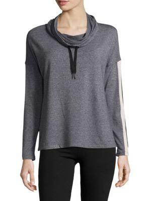 Heathered Hooded Top Calvin Klein